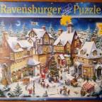 Weihnachtsdorf, Ravensburger, 1000 Teile