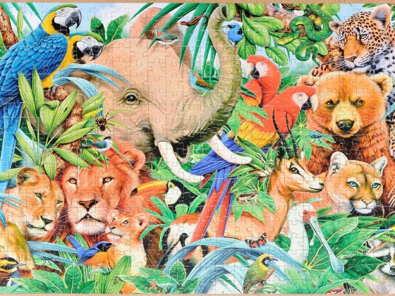 Step-Puzzle - Animals World, 1000