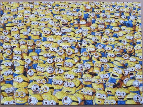 Despicable Me / Minions, 1000 Teile, Clementoni, Art.-Nr. 31450, gepuzzelt 2015