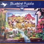 Magic Farm Painting, 1000 Teile, Bluebird