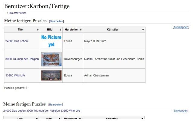 Aufbau Eines Puzzle Wiki Puzzle Wiki Puzzlefreunde